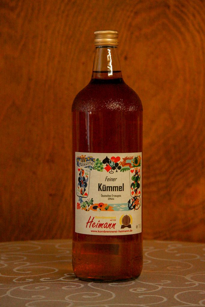 Feiner Dauborner Kümmel, Flasche, 32% vol.