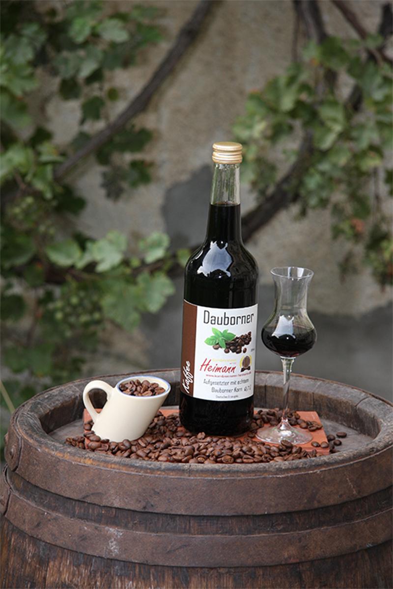 Dauborner Aufgesetzter mit Kaffeebohnen, Flasche, 30% vol.