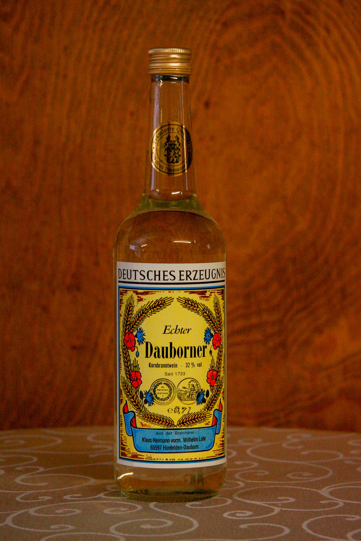 Echter Dauborner Korn, Flasche, 32% vol.