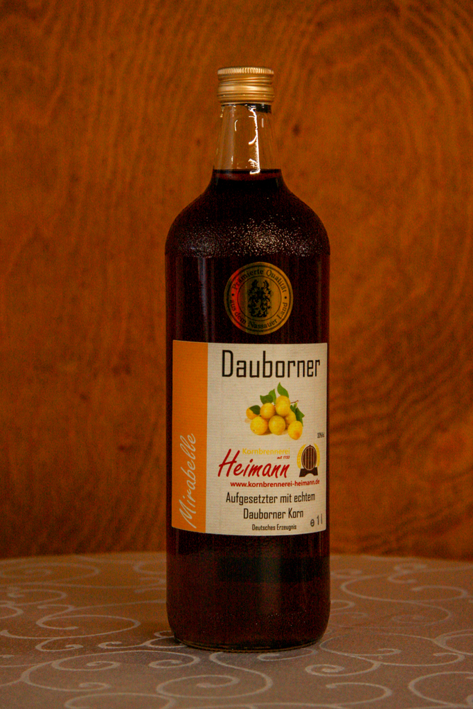 Dauborner Aufgesetzter mit Mirabellen, Flasche, 30% vol.