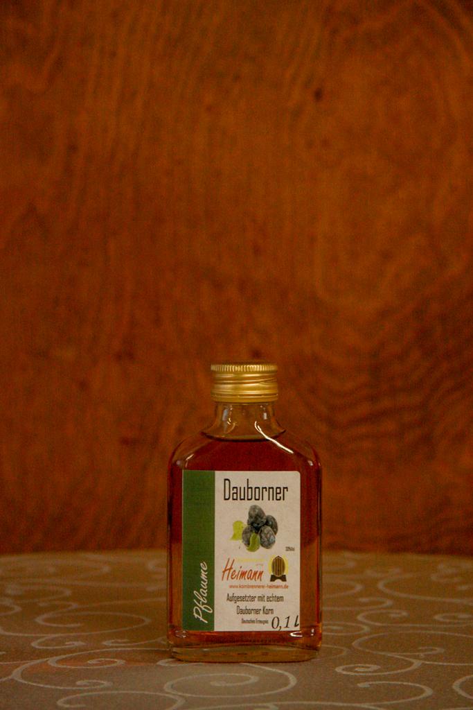 Dauborner Aufgesetzter mit Pflaumen, Flasche, 30% vol.